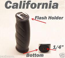 Flash LED Light Bracket Hot Cold Shoe Mount Handle Grip for DSLR DV Camera Movie