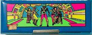 VINTAGE 1980s BIOCAL SCHOOL MAGNETIC PENCIL CASE BRAVESTARR GREEK BRAND NEW RARE