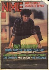 NME NEWSPAPER COVER FOR 24/9/1983 STUART ADAMSON 0F BIG COUNTRY