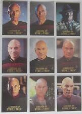 ST TNG - Legends of Star Trek - Capt. Picard - 9 Cards Set - limitiert 1701 Sets