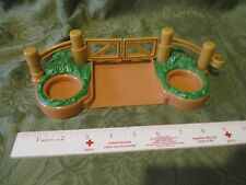 Fisher Price Little People Christmas Train Gate Fence Pumpkin Fall Halloween