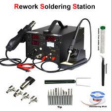 3 IN 1 853D Hot Air Gun Station Welding SMD Rework Welding Repair Tool 110V/220V