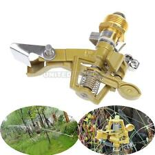 Durable Zinc Alloy Impact Sprinkler Garden Lawn Watering Irrigation Spray Head #