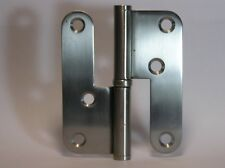 6 x Hinges Stainless Steel Lift Off 1 Bearing 98mm x 82mm