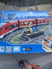 Lego City Passenger Train With Extra Track