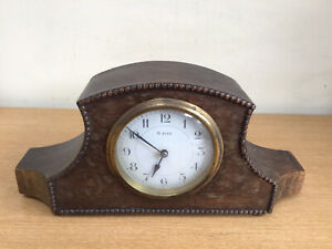 ANTIQUE FRENCH 8 DAY WOODEN CLOCK