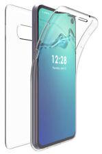 Tri-Max Clear Screen Guard Full Body TPU Wrap Case Cover for Galaxy S10e