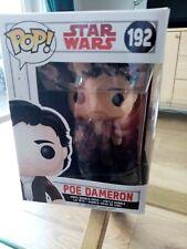 FUNKO POP! STAR WARS POE DAMERON #192. NEW IN BOX!