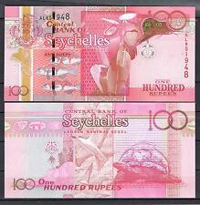 SEYCHELLES  100  RUPIAS AÑO 2011 Pick # 43    SC  UNC