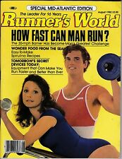 RUNNER'S WORLD Magazine-AUGUST, 1982