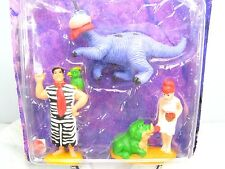 THE FLINTSTONES Collectible FIGURE Set FRED WILMA DINO FLINTSTONE  - 1993 NOC