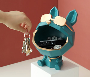 Big Mouth Dog Storage Box Home Decoration Cool Gift Dog Figurine | Free Shipping