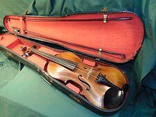 Vintage Jacobus Stainer Violin Full Size Wooden Case Nice Antique Instrument
