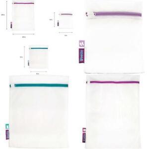 Woolite Sanitized Treated 3 Piece Mesh Wash Bag, White Home & Kitchen