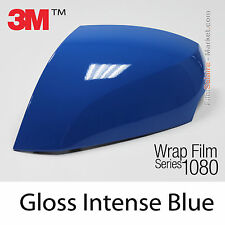 10x20cm FILM Gloss Intense Blue 3M 1080 G47 Vinyle COVERING Car Wrapping