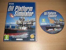 OIL PLATFORM SIMULATOR Pc Cd Rom Simulation  FAST DISPATCH