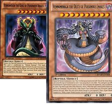 (Lot 2 Cards Vennominaga The King +Deity of Poisonous Snakes unlimi  RYMP Yugioh