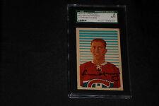 CESARE MANIAGO 1963-1964 PARKHURST ROOKIE SIGNED AUTOGRAPH CARD #40 SGC SLABBED