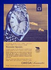 A490-Advertising Pubblicità-1960-OMEGA SEAMASTER - OROLOGI