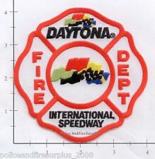Florida - Daytona International Speedway FL Fire Dept Patch v1 NASCAR