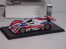 SPARK MG LOLA EX257 AER #25 RAY MALLOCK LE MANS 2004 1:43