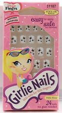 Lot of 2 Fing'rs Girlie Nails - 31107 - Spider