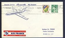 46101) Air France FF Bone - Paris  29.2.60, cover Brief