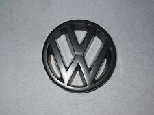 ORIG. emblema calandra parrilla emblema negro VW Polo 86c Coupe furgoneta remol GT g40