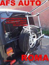 PORTABICI POSTERIORE AFS 3 BICI X JEEP WRANGLER 2007 PORTELLONE IN PLASTICA