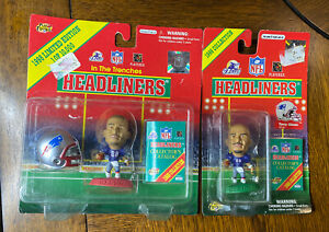 Terry Glenn  New England Patriots Football 2 1998 Headliners Figures Toys Ohio