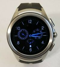 LG URBANE 2ND EDITION 4G LTE W200a 44.5mm STAINLESS STEEL CASE BLACK BAND