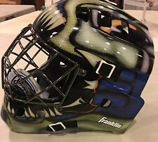 Franklin GFM1000 SX Street Extreme Pro Roller Hockey Goalie Mask NEW with Tag