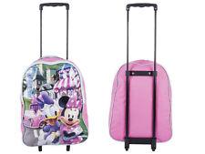 Disney Kids Boys and Girls School Wheeled Travel & Trolley Bag Minnie Mouse