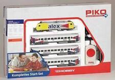 PIKO H0 57130: SET DE INICIO COCHE PASAJEROS Alex con Locomotora diésel Hércules