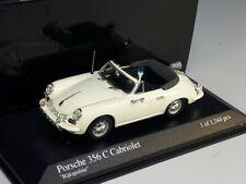 """PORSCHE 356 C Cabriolet 1965 """"Rijkspolitie"""" L.E.1/1344 - 1/43 - MINICHAMPS"""