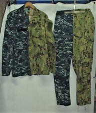 U.S. Navy NWU I/NWU III Combined Uniform For Display