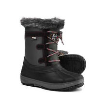 Pajar Girls Boy's Judi/Juliette Faux Fur Snow Winter Boots 1 US/32 EUR Youth NIB