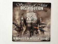 CD SEASON OF MIST DISTRIBUTION HELLFEST 2008 SAMPLER