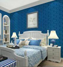 3D Wallpaper PE Foam Free DIY Blue Wall Stickers Wall Decor Embossed Brick Stone