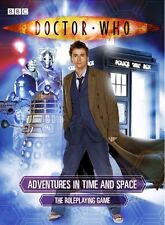 Doctor Who Adventures in Time and Space RPG - David Tennant - Cubicle 7