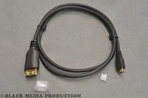 PureLink Micro HDMI - HDMI Kabel PI1300-020   HDMI 1.4 4K HEC/ARC SLS - 2m *NEU*