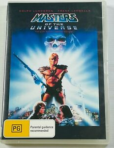 Masters of the Universe (DVD) Dolph Lundgren PAL Region 4 Free Postage