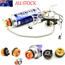 Hiking Camping Stove Burner Furnace Converter Connector Gas Tank Coupler Adapter