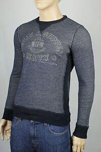Denim & Supply Ralph Lauren Blue Sweatshirt Graphic NWT