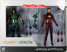 DC Comics TV Series ~ THE FLASH & GREEN ARROW FIGURE SET ~ DC Collectibles CW