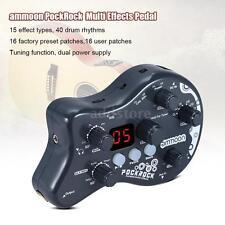 Guitar Multi-effects Processor Effect Pedal 15 Effect Types US Plug L2O6