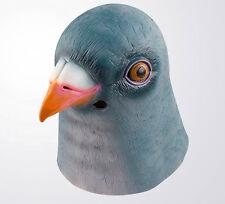 Latex Mask Halloween Pigeon Head Creepy Costume Prop