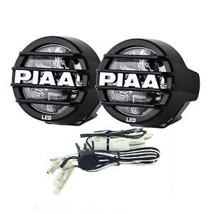 PIAA 05370 LED LP530 LED Fog Kit w/ Two White Fog Lights/Harness/Fuse/Switch