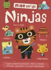 Make and Do: Ninjas by Marion Billet (2015, Paperback) Brand New