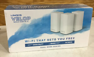 Linksys AC-3900 Dual-Band Wi-Fi System 3 PACK (WHW0103)